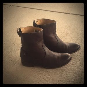 Frye everyday leather boots